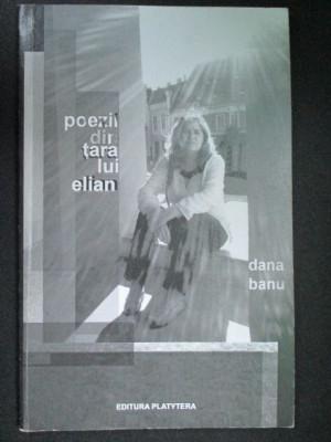 Poezii din tara lui Elian-Dana Banu foto