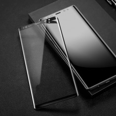 Folie de Sticla 9D Full Glue SAMSUNG Galaxy Note 8 negru , auriu  Smart Glass