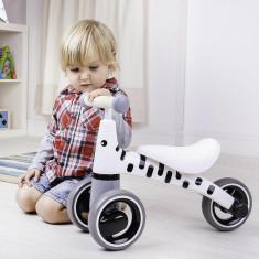 Tricicleta fara pedale zebra
