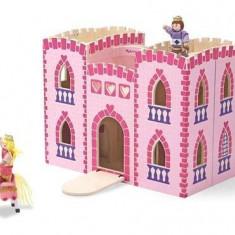 Castel din lemn pliabil Melissa & Doug
