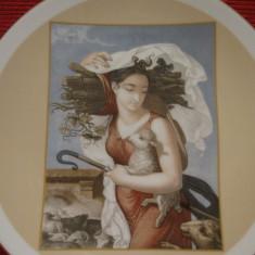 TABLOU / FARFURIE DECORATIVA PORTELAN HAVILAND LIMOGES FRANTA  EDITIE LIMITATA