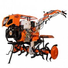 Motosapatoare Ruris 1300KS 13 CP 389 CC + Roti cauciuc + Plug reversibil + Roti metalice