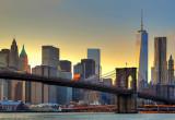 Cumpara ieftin Fototapet 00148 Podul Brooklyn la apus