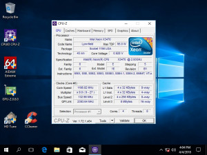 Kit Placa de baza Intel DQ 57 TM Socket 1156  + Intel Xeon X3470 4core/8 threads