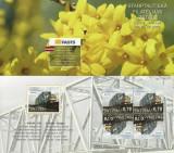 LETONIA  2018  EUROPA CEPT - PODURI - CARNET cu 4 timbre - 2 TB Mi.1043D  MNH**, Nestampilat