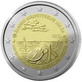 RAR !! - Finlanda moneda comemorativa 2 euro 2021 - Aland - UNC, Europa