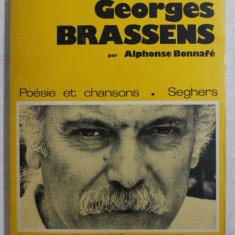 GEORGES BRASSENS par ALPHONSE BONNAFE - POESIE ET CHANSONS , 1963