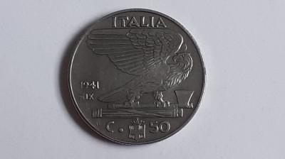 Italia , 50 Centesimi 1941 (2) foto