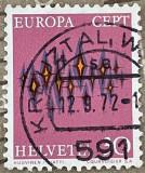 Elvetia Stele, Stampilat