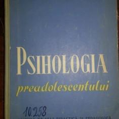 Psihologia preadolescentului – V.A. Krutetki