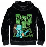Hanorac Minecraft ORIGINAL Creeper Steve 5-12 ani + Bratara CADOU !