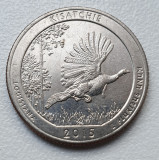 Moneda 25 cenți / quarter 2015 SUA, Kisatchie - Louisiana, America de Nord