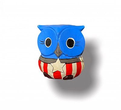 Decorațiune California Owl, L foto