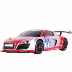 Masinuta cu Telecomanda Audi R8 LMS RC Racing, Scara 1:18 Gri Rosu