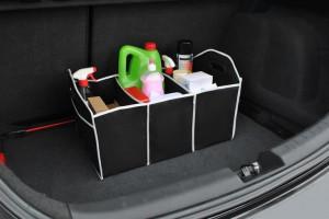 Organizator portbagaj pliabil, pentru depozitare accesorii auto