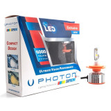 SET becuri SUPREME H4 3+ Plus cu VENTILATIE Bec FAR LED - SP2844