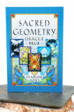 Carti tarot Oracle Geometry -geometria sacra+cadou set zaruri geomancy