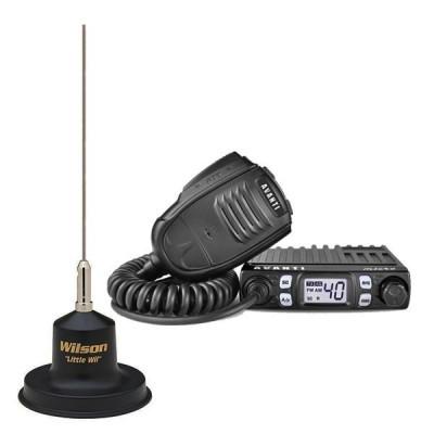 Statie radio CB Avanti Micro (versiunea PRO) cu antena Little Wil foto