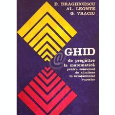 Ghid de pregatire la matematica pentru concursul de admitere in invatamatul superior