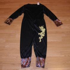 Costum carnaval serbare ninja pentru copii de 5-6-7 ani, 5-6 ani, Din imagine
