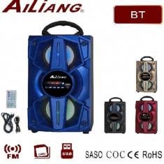 Boxa Portabila cu Bluetooth, Radio FM, USB Ailiang