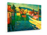 Cumpara ieftin Tablou pe panza (canvas) - Wassily Kandinsky - Autumn Landscape With Boats