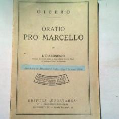 CICERO ORATIO PRO MARCELO - I. DIACONESCU