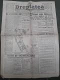 Ziarul Dreptatea 6 martie 1946