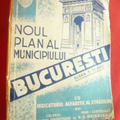 Col.U.Simboteanu si M.Moldoveanu- Noul Plan al Municipiului Bucuresti 1943