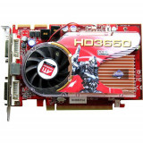 Placa Video ATI Radeon HD 3650 512MB, Dual DVI, Display Port, adaptor DVI-VGA cadou