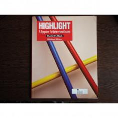 Highlight Upper-Intermediate, Student's Book, Michael Vince
