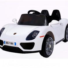 Masinuta electrica Roadster, alb