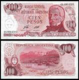 = ARGENTINA - 100 PESOS – 1976 - UNC   =