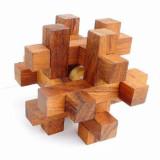 Puzzle din lemn Interlocking - Arno