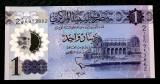 Libia 1 Dinar 2019 polimer UNC necirculata **
