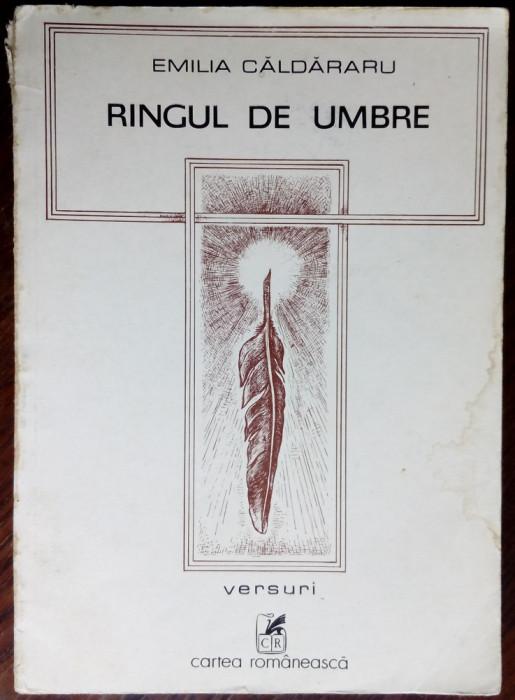 EMILIA CALDARARU - RINGUL DE UMBRE (VERSURI, 1982) [DESENE DE TRAIAN FILIP]