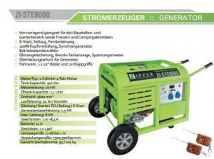 Generator curent ZI-STE8000 2x230V Telecomandă
