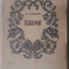 Basme - A.S.Puschin (in versuri)      (posib. expediere si 6 lei/gratuit) (4+1)