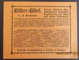 Reclama bibliofila veche Bilder-Bibel.