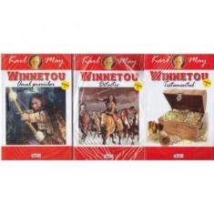 Winnetou - omul preriilor - vol. I, II, III
