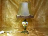 Veioza bronz stil Baroc Victorian Fragonard, colectie, cadou, vintage