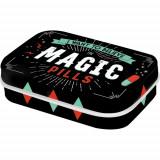 Cutie metalica cu bomboane - Magic Pills