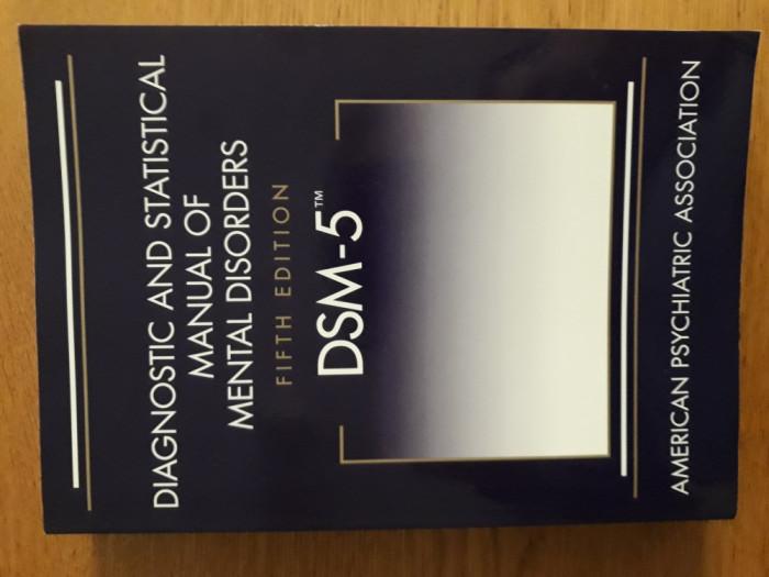 DSM 5 - Diagnostic and statistical manual of mental disorders