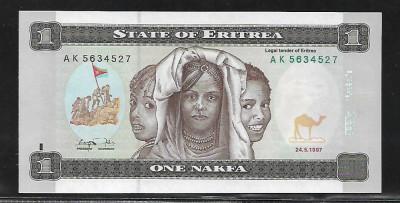 Eritrea  1 Nafka 1997 -UNC foto