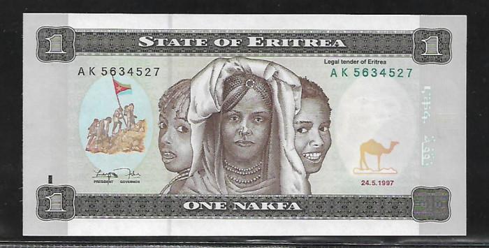 Eritrea  1 Nafka 1997 -UNC