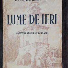 LUME DE IERI - I.A.BASSARABESCU