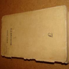 Morometii, vol 1, editia 1967, Marin Preda