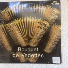 bouquet de vedettes acordion various compilatie disc vinyl lp muzica populara