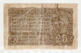 Romania 1917 25 bani F.0215385