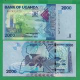 = UGANDA - 2000 SHILLINGS – 2015 - UNC    =